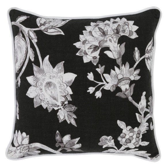 Classic Home CH VE40015 Indee Black/Gray Pillow