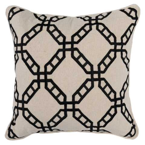 Classic Home CH VE40018 Patris Pillow Black/Natural