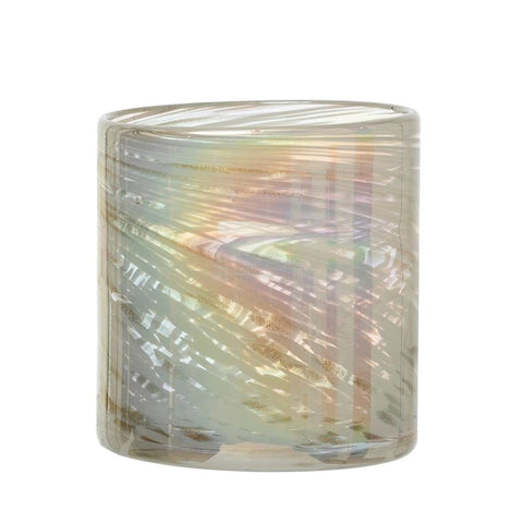 Bloomingville BV AH1315 Round Glass Votive Holder
