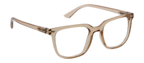 Peepers PS 2751 Tycoon Blue Light Reading Glasses - Tan