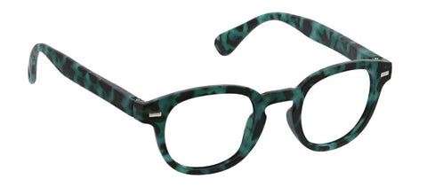 Peepers PS 2753 Headliner Blue Light Glasses - Green Tortoise