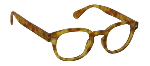 Peepers PS 2754 Headliner Blue Light Reading Glasses - Honey Tortoise