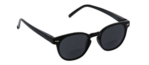 Peepers PS 2462B Boho Bifocal Reading Sunglasses - Black