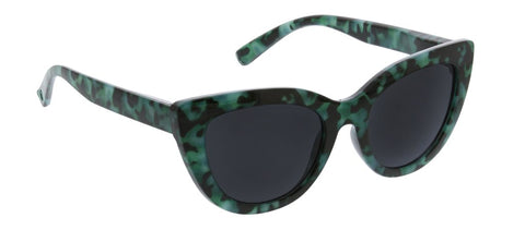 Peepers PS 2756B Rio Bifocal Sunglasses - Green Tortoise