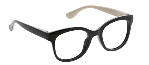 Peepers PS 2581 Grandview Blue Light Reading Glasses - Black