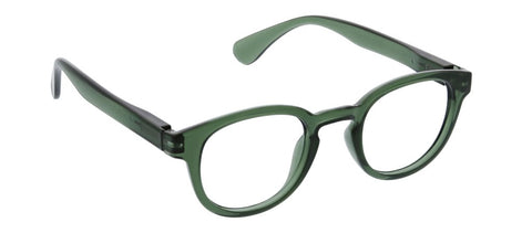 Peepers PS 2675 Smith Blue Light Reading Glasses - Green