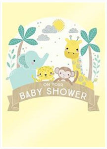 Design Design Inc DDI 100-42210 Baby Shower Animals