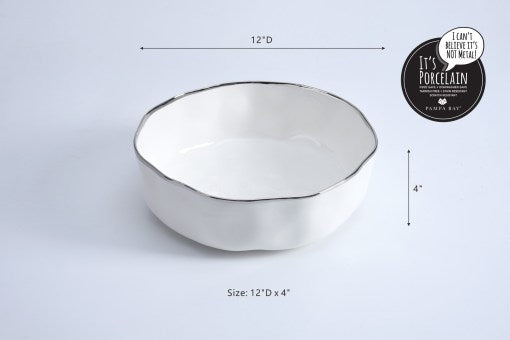 Pampa Bay PB CER-2648-W Extra Large Bowl
