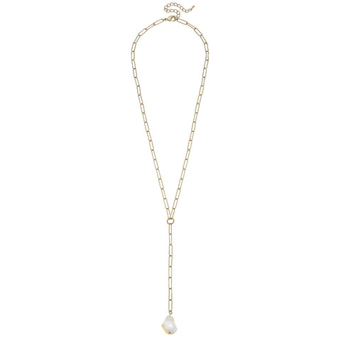 Canvas Jewelry CJ 21882N-GD Camille Y Necklace