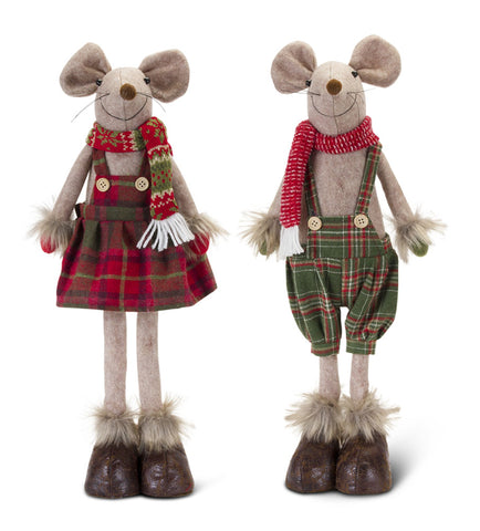 Melrose International MI 80746 Boy and Girl Mouse
