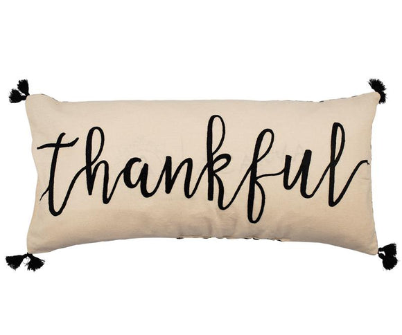 Glory Haus GH 72110533 Thankful Embroidered Pillow