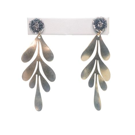 Millie B Designs MBD Grayson Earrings - Silver
