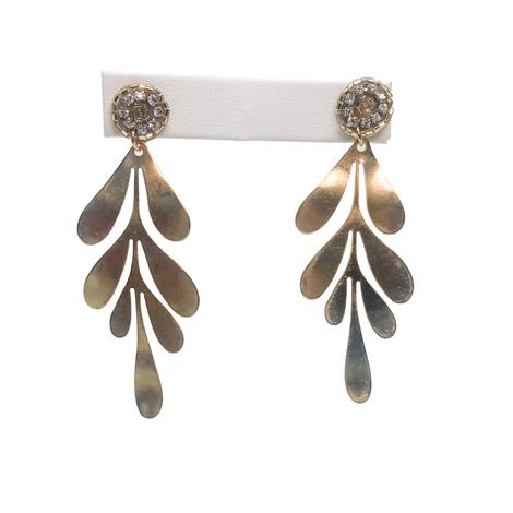 Millie B Designs MBD Grayson Earrings - Gold