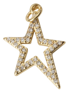 Millie B Designs MBD Shooting Star Charm