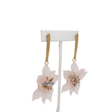 Millie B Designs MBD Bonnie Earrings - Frosted Pink