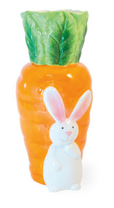 Boston International Inc. KAC20026 Bunny & Carrot Vase