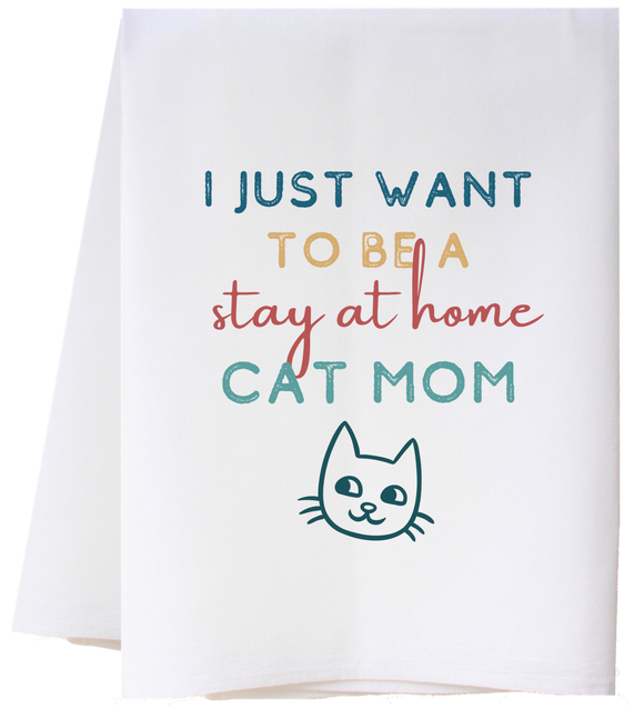 Southern Sisters Home SSH FSTCTM Cat Mom Towel
