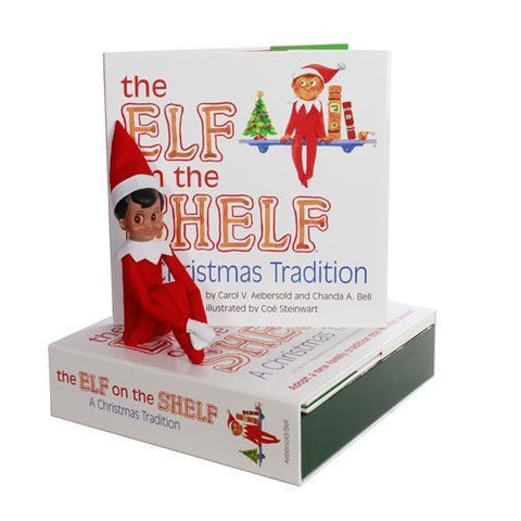 CCA&B EOTBOYD The Elf on the Shelf Boy Dark