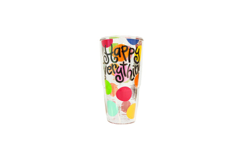 Coton Colors CC-HAPEV-T24DOT 24 oz. Tervis Tumbler Happy Everything Dot Wrap