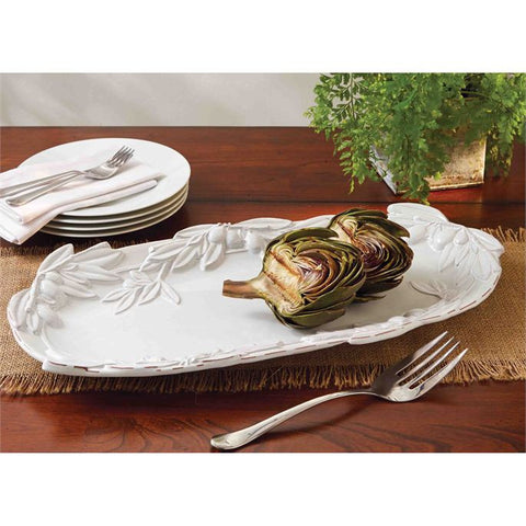 Mud Pie MP-4071058 Olive Oval Platter