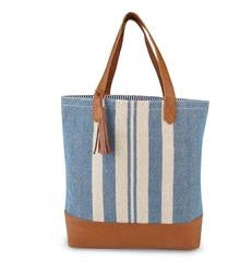 Mud Pie MP-8613131 Hampton Tote