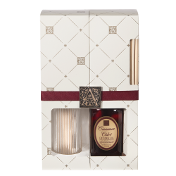 Aromatique AQ-53-447 Reed Diffuser With Cinnamon Cider Oil Set