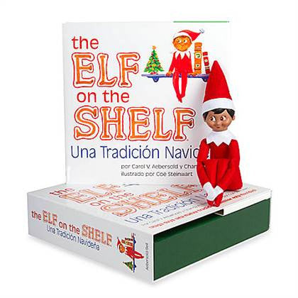 CCA&B EOTS-EOTBOYLSP The Elf On The Shelf-Boy Spanish