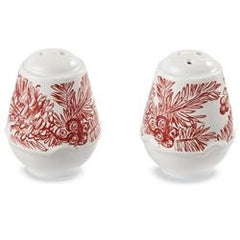 Mud Pie - MP - Holly Toile Salt Pepper Set 4501017