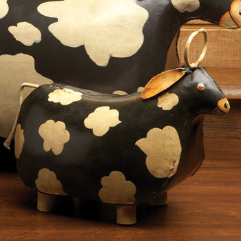 Casafina CF-SI-3617 Small Metal Cow
