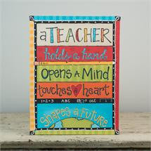 Glory Haus GH-1550202 A Teacher Holds A Hand Table Top Canvas