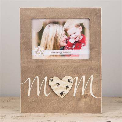 Glory Haus GH-3080004 Mom w/ Tin Heart Frame