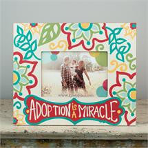 Glory Haus GH-3060104 Adoption is a Miracle Frame