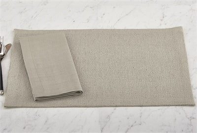 Split P SP-1115-001ST Elements Placemat - Stone