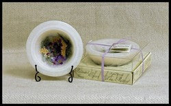 Habersham Candle Co HC-FGWXPT-0233 Lilac Blossom Personal Space Wax Pottery Vessel