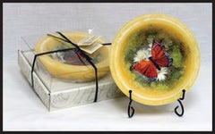 Habersham Candle Co HC-FGWXPT-0152 Butterfly Garden Regular Wax Pottery Vessel