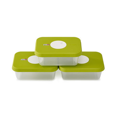 Joseph Joseph JJ-81041 Dial Storage 3-Piece Container Set