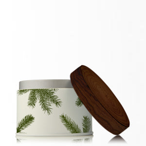Thymes TY 0521493000 Frasier Fir Poured Candle Tin