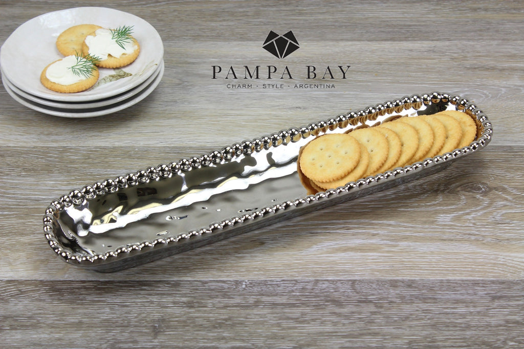 Pampa Bay PB-CER1150 Porcelain Cracker Tray