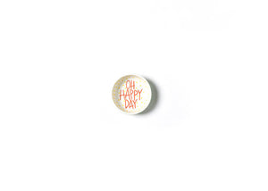 Coton Colors CC-DIPBWL-STR-MNT Mint Stripe Oh Happy Day Dipping Bowl