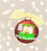 Coton Colors Baby It's Cold Outside Ornament