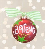 Coton Colors Believe Ornament