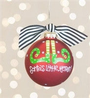 Coton Colors Santa's Little Helper Ornament