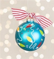 Coton Colors Christmas Lights Ornament
