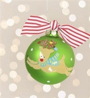 Coton Colors Reindeer Christmas Ornament