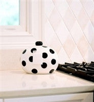 Coton Colors Black Dot Happy Everything Mini Cookie Jar
