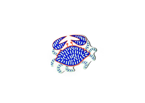 Coton Colors CC ATT MINI-CRAB-BL Blue Crab Mini Attachment