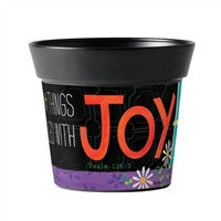 Filled with Joy Art Pot