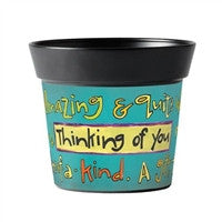 Thinking of You Art Pot