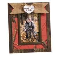 Hunt Like a Girl Wooden Picture Frame