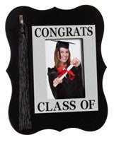Congrats Class of Wooden Picture Frame